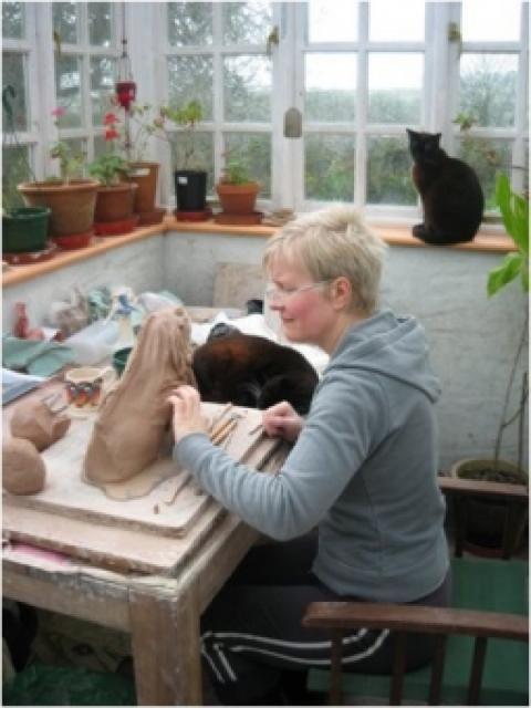 cyd jupe ceramic sculptor