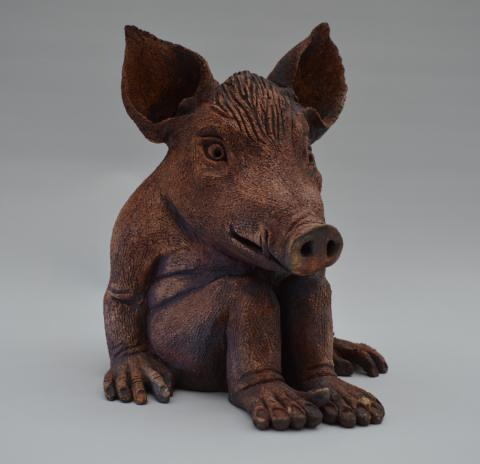 pig demon clay
