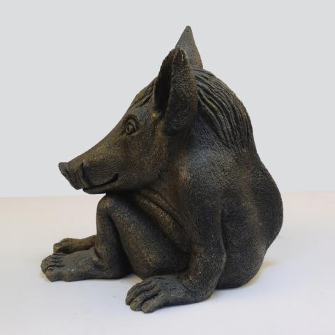 pig demon bronze