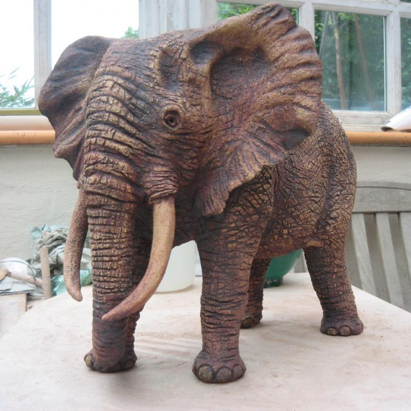 a matriarch elephant