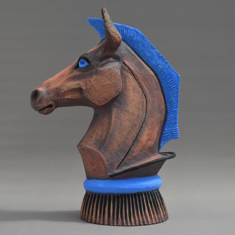red knight horse